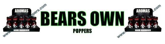 BEARS OWN Poppers