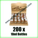 Liquid Gold Poppers Wholesale x 200 bottles