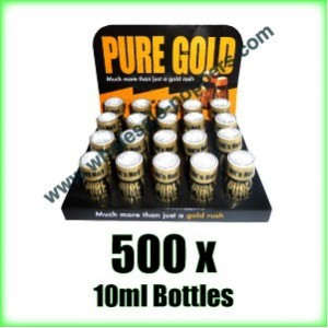 500 x Pure Gold wholesale poppers