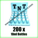 TNT Poppers wholesale x 200 x 10ml bottles