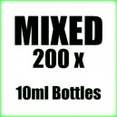 200 x 10ml Mixed wholesale Poppers