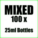 100 x Mixed wholesale Poppers 25ml bottles
