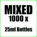 1000 x Mixed wholesale Poppers 25ml bottles