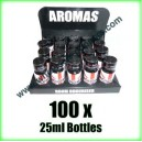 100 x ENGLISH 25ml Mixed wholesale Poppers