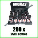 200 x ENGLISH 25ml Mixed wholesale Poppers