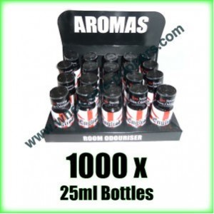 1000 x ENGLISH 25ml wholesale Poppers