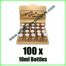 Liquid Gold Poppers wholesale x 100 bottles