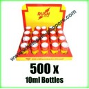 RUSH Poppers wholesale x 500 x 10ml bottles