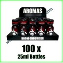 100 x BEARS OWN 25ml Mixed wholesale Poppers