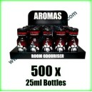 500 x BEARS OWN 25ml Mixed wholesale Poppers
