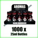 1000 x BEARS OWN 25ml Mixed wholesale Poppers
